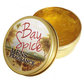 Gentlemens Fragrance Mens Bay Spice Body Balm