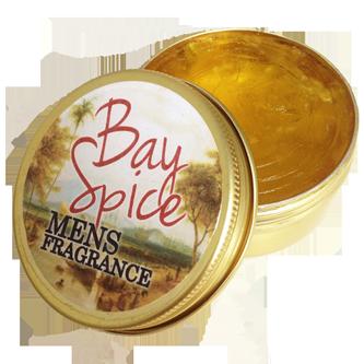 Gentlemens Fragrance Mens Bay Spice Body Balm